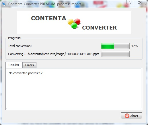 Windows 7 Contenta SVG Converter 6.6 full